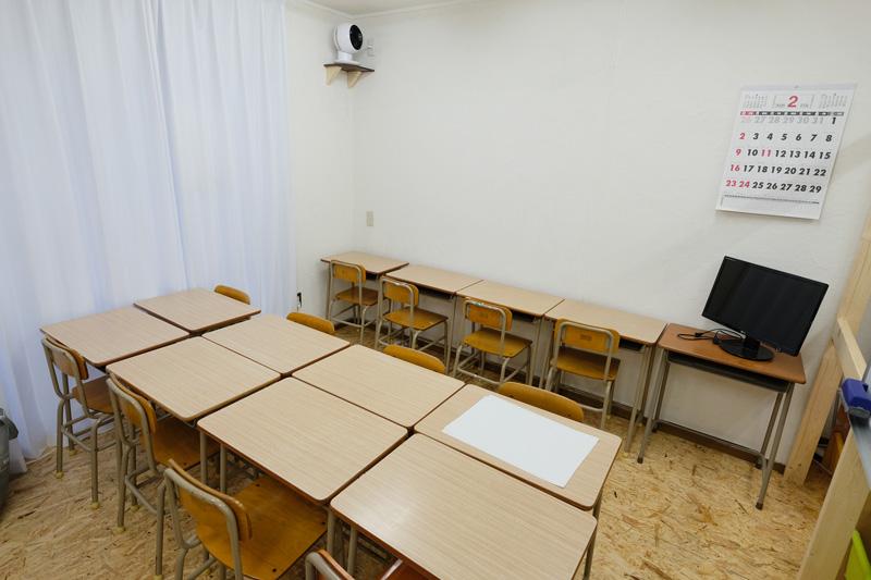 神戸市垂水の学習塾ハイファイブの教室の様子